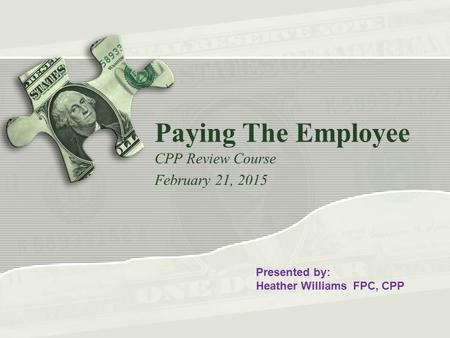Tricia Tolbert, CPP - Benefits & Compensation Manager ...
