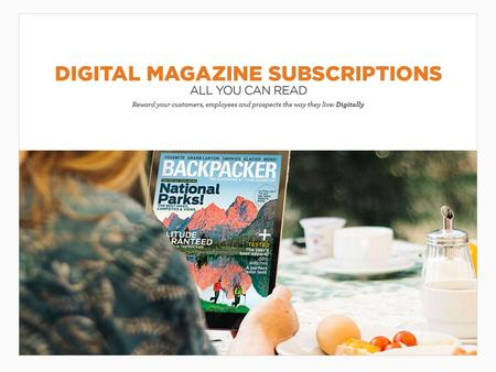 Digital Magazine Subscriptions With Over 1,000 global magazines at your fingertips, Readly is the ultimate magazine subscription. This digital magazine.