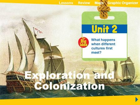 Native Peoples of North America ReviewLessonsMapsGraphic OrganizerMapsGraphic Organizer Unit 2 Exploration and Colonization Exploration and Colonization.