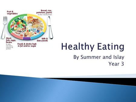 By Summer and Islay Year 3.  There are five main food groups that we need to eat food from every day to stay healthy. Food is the fuel for our body and.