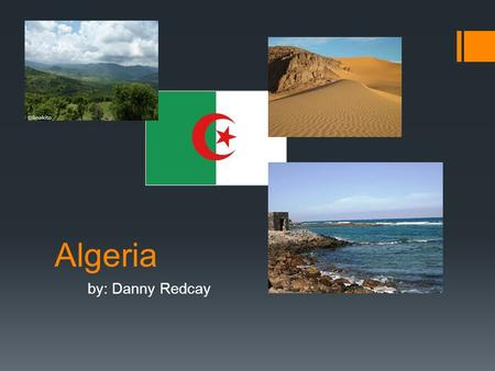 Algeria by: Danny Redcay. Economy  Farming in Algeria is not as important to the economy as what it used too.  7th in world in oil production  the.