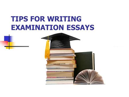 Write an essay exam