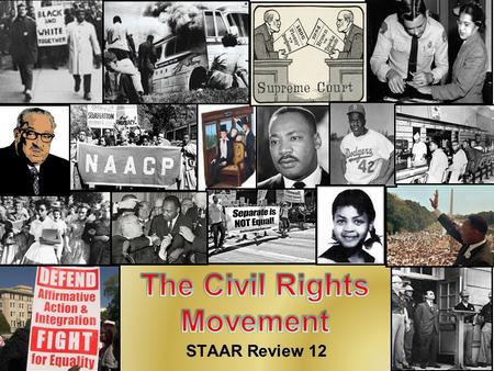STAAR Review 12. Civil War Amendments During the early years of our nation, slavery was permitted in many areas. But after the Civil War things began.