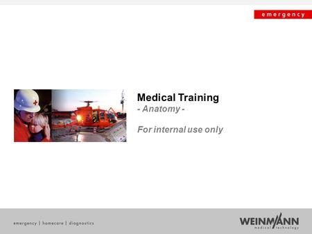 Medical Training - Anatomy - For internal use only.