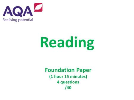 foundations of reading essay questions Foundations of reading  part a will consist of short answer, essay, and multiple choice questions related to course texts and activities (100 pts) a study guide .