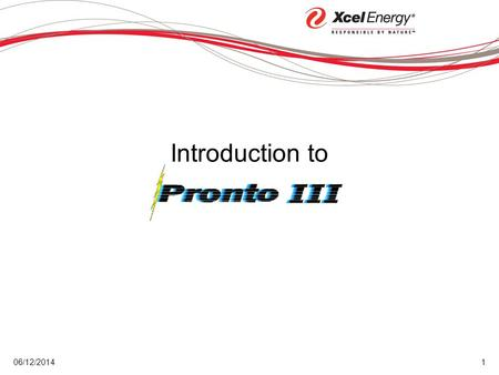 06/12/20141 Introduction to. 06/12/20142 Logon to Pronto III 3 Performing Tasks 6 Nomination Basics 9 Receipt Allocations18 Delivery Allocations23 Confirmations26.