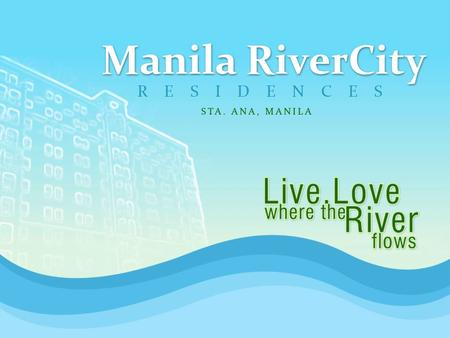 Experience the verve of living by the banks and drift through the historic and scenic beauty of Pasig River. Project lot area composed of 14,000 square.