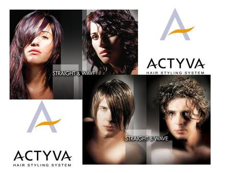 Step 1 4 oz of product Step 2 4 oz of product Actyva Straight & Wave is a new multi service system for professional use only: curly hair becomes straight.