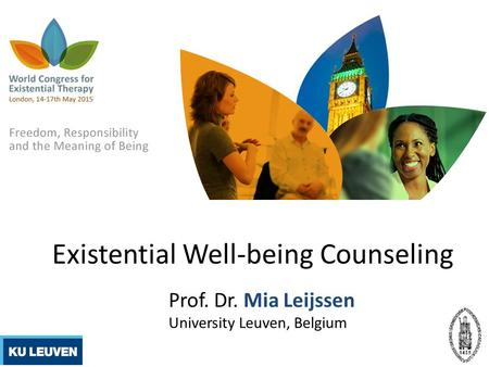 Existential Well-being Counseling