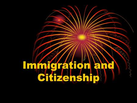 Immigration and Citizenship. Citizen A citizen is a member of a community who owes loyalty to the government and is entitled to protection from it.