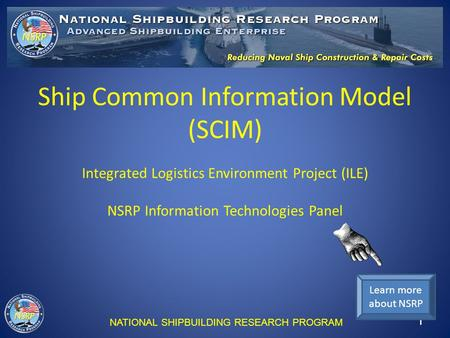 Ship Common Information Model (SCIM)