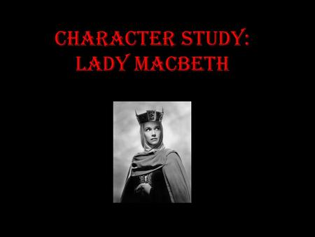 macbeth the evil of lady macbeth