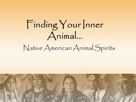 Native American Animal Spirits Finding Your Inner Animal…