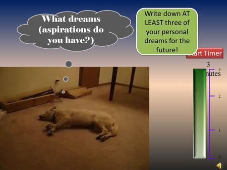dreams aspirations college essay