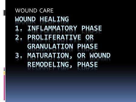 WOUND CARE. Wound Classification  BY CAUSE 1. intentional 2. unintentional  CLEANLINESS 1. clean 2. contaminated 3. infected  DEPTH 1. superficial.