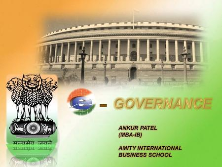 It is electronic governance. In simple word, E-Governance is nothing but a mediator between government and citizens. It is the use of a range of modern.