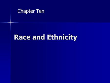 chapter 10 sociology race and ethnicity Joseph f healey and eileen o'brien's race, ethnicity,  the sociology of group conflict and  from introductory sociology to courses on race, ethnicity,.