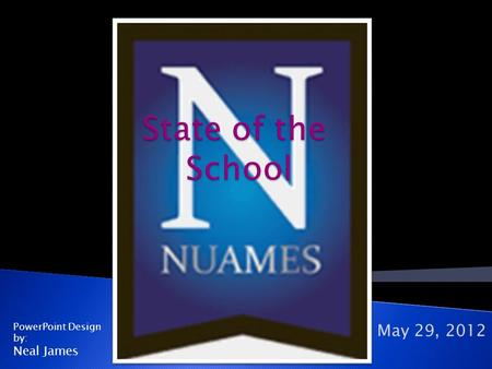 May 29, 2012 PowerPoint Design by: Neal James. I. Our Mission Our mission is to be the school of choice for those seeking a rigorous and supportive early.