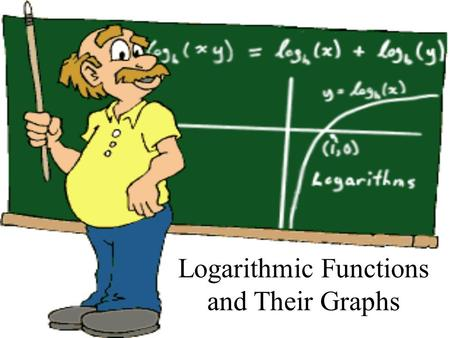 Logarithmic Functions and Their Graphs. Consider This is a one-to-one function, therefore it has an inverse. The inverse is called a logarithm function.