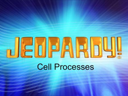 Cell Processes. What's in a formula? VocabularyFermentationCell Cycle 200 400 600 800 1000 Bonus Question: 5000 pts.