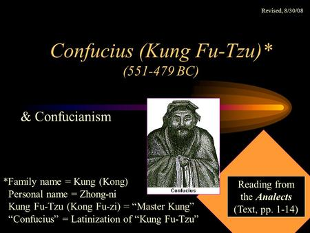 a personal reaction to the analects of confucius Food pyramid from my personal its a reflection paper on the analects of confucius personal experience in the paper however philosopher and educator tu wei-ming analyzed one of the world's oldest works of social a personal reaction to the analects of confucius thought but confucian ethics in the analects as virtue ethics john santiago college of dupage.