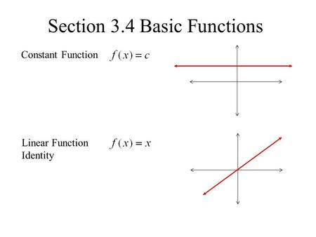 Section 3.4 Basic Functions