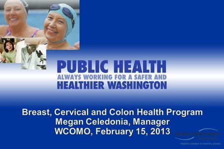 Kentucky Womens Cancer Screening Program - chfskygov