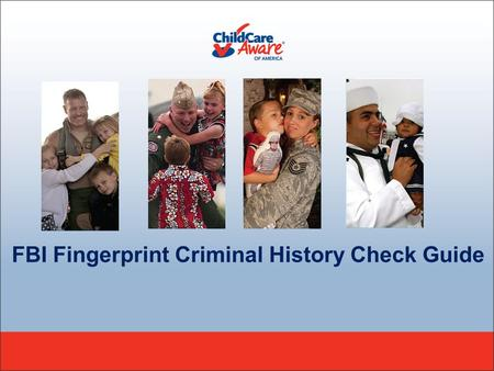 FBI Fingerprint Criminal History Check Guide