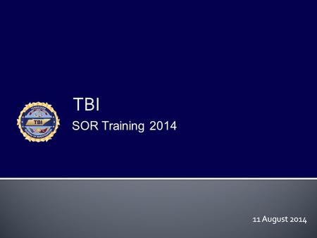 TBI SOR Training 2014 11 August 2014. JUVENILES  Tennessee Adjudications  14 years of age or more  Occurred on or after 7-1-2011  Offenses: Aggravated.