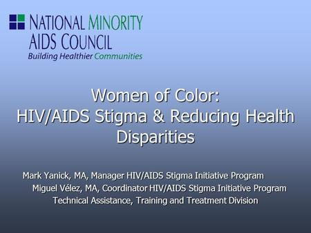 health disparities in hiv In this report, health disparities are measured by examining differences in hiv/aids, viral hepatitis, stds, and tuberculosis surveillance data with respect to such sociodemographic factors as race/ethnicity, gender, and age.