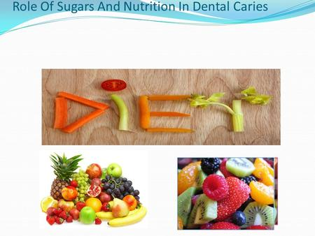 Role Of Sugars And Nutrition In Dental Caries.