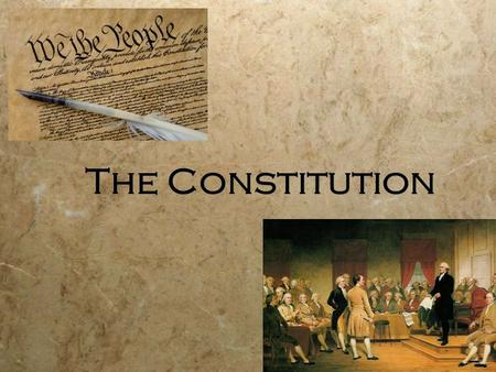 The Constitution Essay
