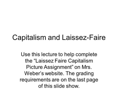 assignment capitalism and economy Comparing marx and weber assignment:  marx, economic and weber,  religion mean for a common definition of capitalism for both marx and weber, religion has a.