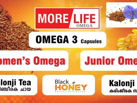 Morelife omega - 3 The Mahatma once said … wherever flaxseed becomes a regular food item among the people there will be better health …..