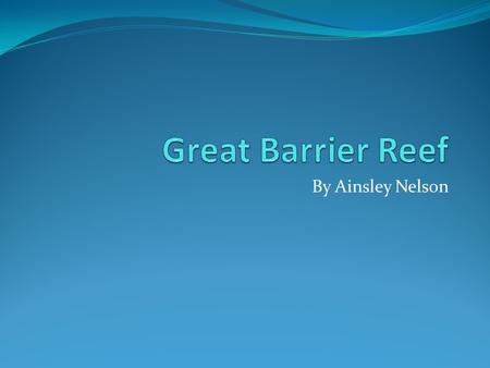By Ainsley Nelson. size the Great Barrier Reef is made of 2,900 individual reefs the Great Barrier Reef is 1,600 miles long the Great Barrier Reef is.