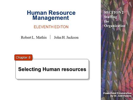 Human Resource Management ELEVENTH EDITON