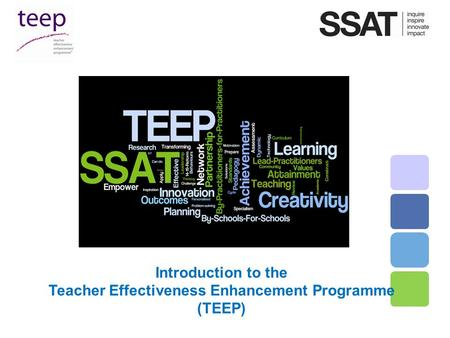 Teacher Effectiveness Enhancement Programme