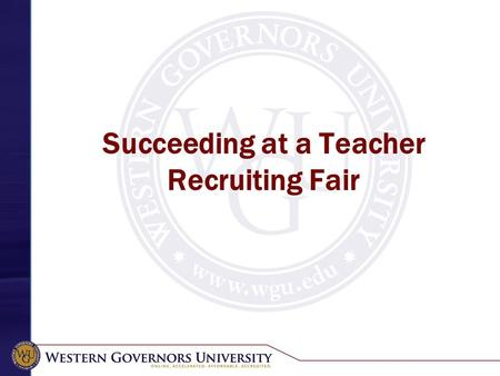 Succeeding at a Teacher Recruiting Fair. Teacher Job Fairs Teacher fairs function differently across states Read job fair instructions. Some fairs charge.
