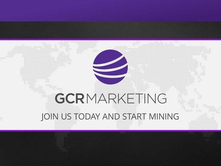 Global Currency Reserve (GCR) was created to help YOU profit from the rise of the cryptocurrency movement. We offer you attractive worldwide possibilities.
