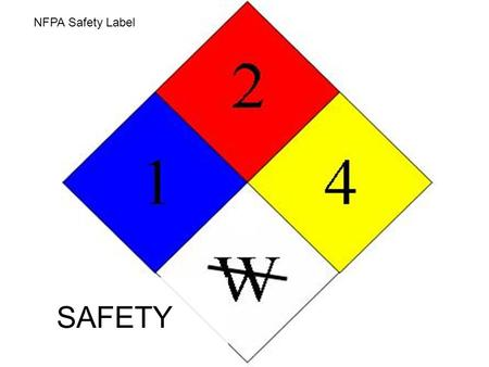 Unit 1B NFPA Safety Label SAFETY. Safety Shower Emergency safety showers are found in labs where workers or students are exposed to hazardous chemicals,