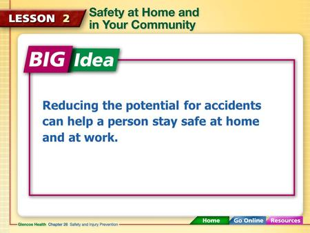 Reducing the potential for accidents can help a person stay safe at home and at work.