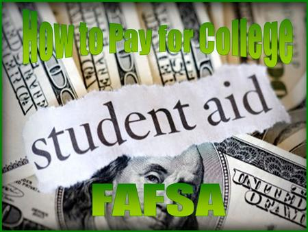 """Financial Aid"" is a term that covers a wide variety of programs that help students and families pay for college or graduate school. Do not put off a."
