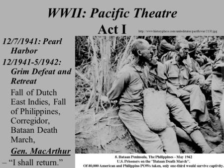 pacific theatre wwii essay Pacific ocean theater of world war ii in the service of the emperor: essays on the imperial japanese army nebraska: university of nebraska press.