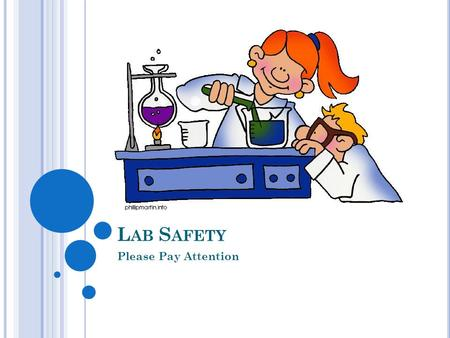 L AB S AFETY Please Pay Attention. W ARM U P List 5 classroom expectations that you learned on Tuesday.