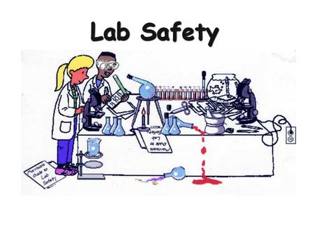You Should Never… Eat or drink in the lab Use lab glass-ware to eat or drink out of.