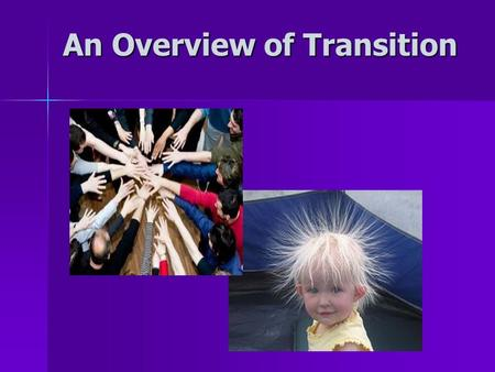 An Overview of Transition. Economic Instability & Inequity Global Warming Resource Depletion What's going on in the world?