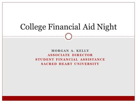 College Financial Aid Night