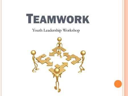 T EAMWORK Youth Leadership Workshop. A GENDA Introduction Four Stages of Team Development How to be an effective team member Common problems.
