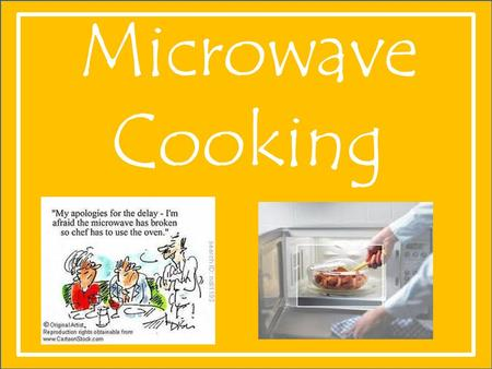 Microwave Cooking. History of the Microwave Dr. Percy L. Spencer of Massachusetts first experimented with radar in 1945. After noticing that a chocolate.