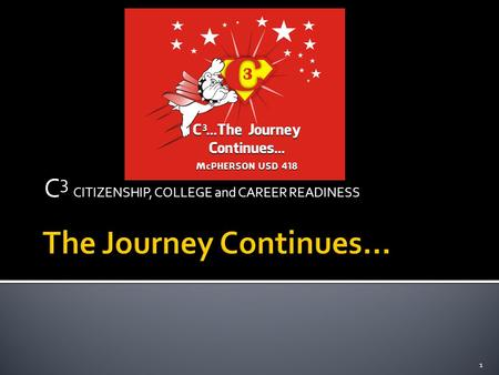 C 3 CITIZENSHIP, COLLEGE and CAREER READINESS 1. 2.